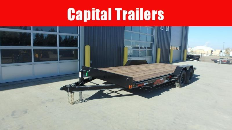 "2021 Double A Trailers Carhauler Trailer - 83"" x 18' (7000 GVW) Equipment Trailer"