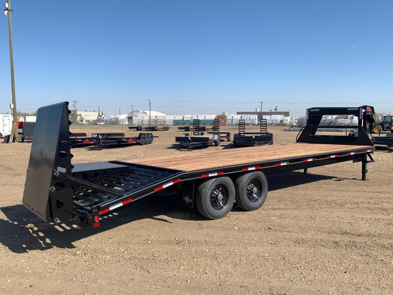 "2020 Double A Trailers 102"" x 26FT Gooseneck Highboy Trail Equipment Trailer"