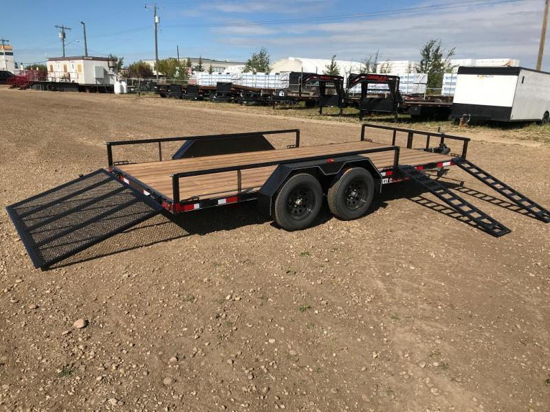 "2021 Double A 83"" x 16' Utility / ATV Trailer (7000lb GVWR)"