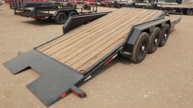 "2021 Double A 83"" x 24' Cushion Tilt Equipment Trailer (21000lb GVWR)"