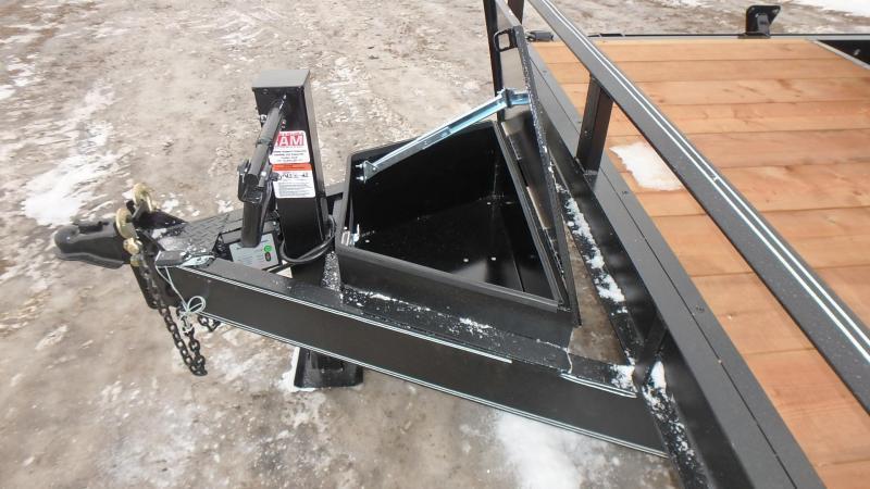 "2021 Double A 83"" x 20' Cushion Tilt Equipment Trailer (14000lb GVWR)"