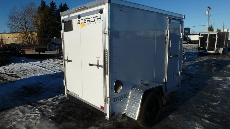 2021 Stealth Trailers 5FT x 8FT Enclosed Cargo Trailer