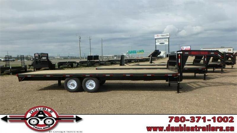 "2021 Double A 102"" x 24' Gooseneck Highboy (14000lb GVWR)"