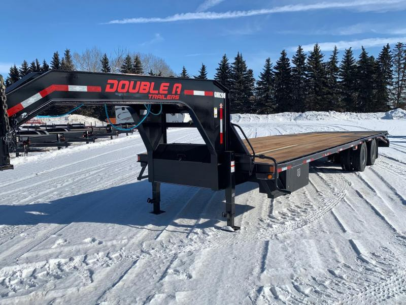 """2020 Double A Trailers 102"""" x 30FT Engineered Beam Gooseneck Trailer"""