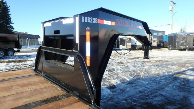 "2021 Double A Trailers 102"" x 36FT Engineered Mainframe W/ Hydraulic Dovetail"