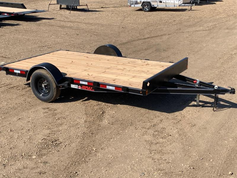 "2020 Double A Trailers 83"" x 12FT Quad Sport Utility (3500LB GVW) ATV Trailer"