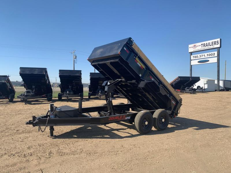 "2020 Double A Trailers 83"" x 12FT Tandem Axle Dump Trailer (14000LB GVW) Dump Trailer"