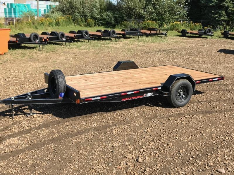 "2020 Double A Trailers 83"" x 14FT Quad Sport / ATV Trailer (3500LB GVW) ATV Trailer"