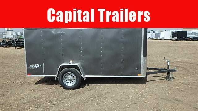 2020 Stealth Trailers Liberty Series 2020 5FT x 12FT Enclosed Cargo Trailer