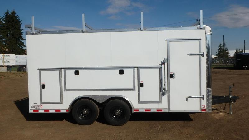 2021 Bravo Trailers 8.5FT x 16FT (10400LB GVW) Enclosed Cargo Trailer