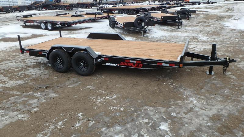 "2021 Double A 83"" x 20FT Excel Series Equipment Trailer (14000lb GVWR)"
