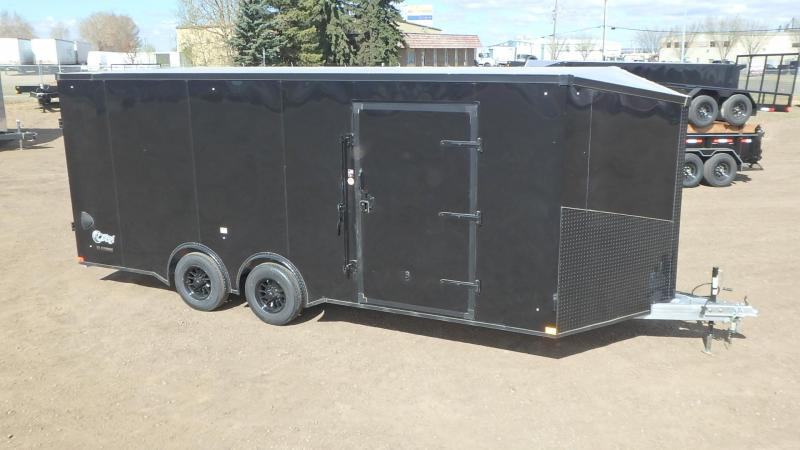 2021 Stealth Trailers 8.5FT x 20FT Aluminum Enclosed Cargo Enclosed Cargo Trailer