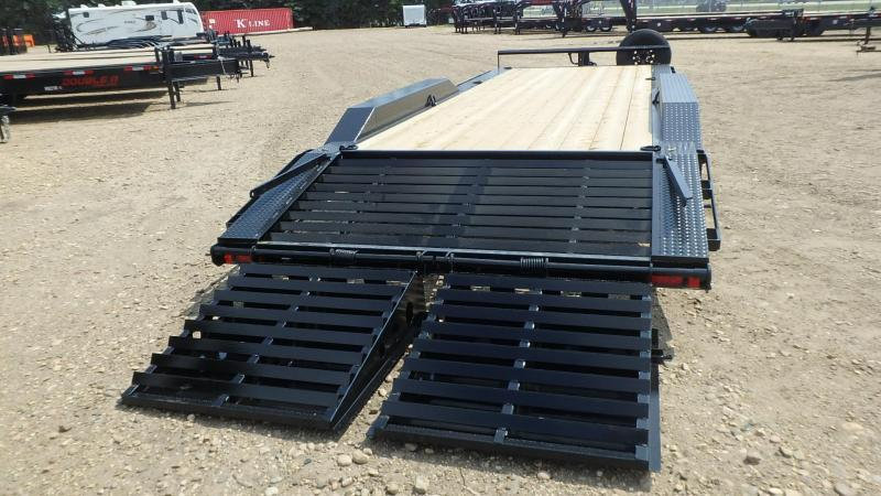 "2021 Double A 102"" x 24 Triaxle Equipment Trailer (21000lb GVWR)"