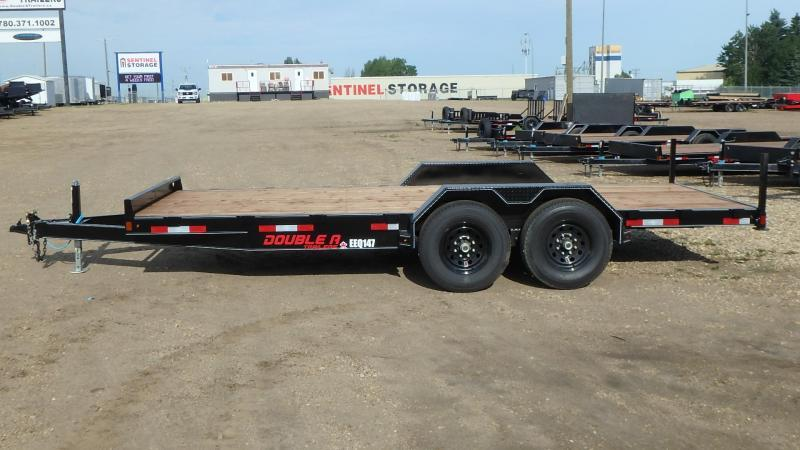 "2020 Double A 83"" x 18FT Excel Series Equipment Trailer (14000lb GVWR)"