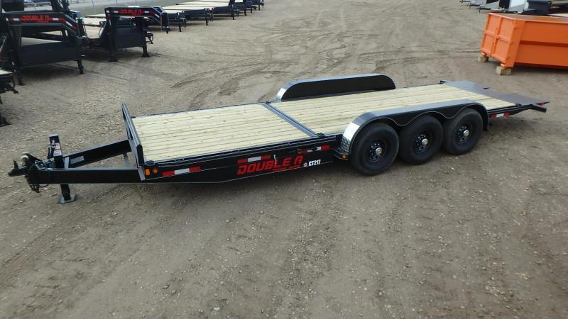 "2021 Double A 83"" x 24' Cushion Tilt Equipment Trailer (21000lb GVWR)"