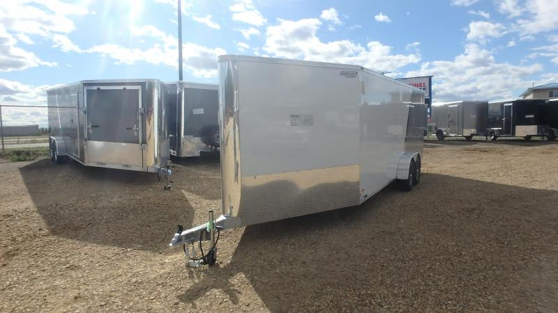 2021 Bravo Trailers 7FT x 20FT + 5FT Drive Off Aluminum Sled/Cargo Enclosed Cargo Trailer