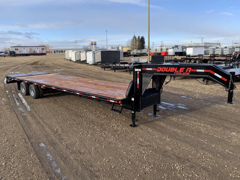 "2021 Double A 102"" x 34FT Gooseneck Trailer (25000LB GVW)"