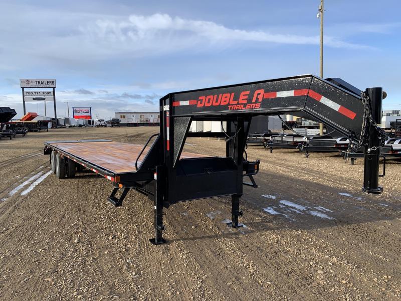 """2021 Double A 102"""" x 34FT Gooseneck Trailer (25000LB GVW)"""