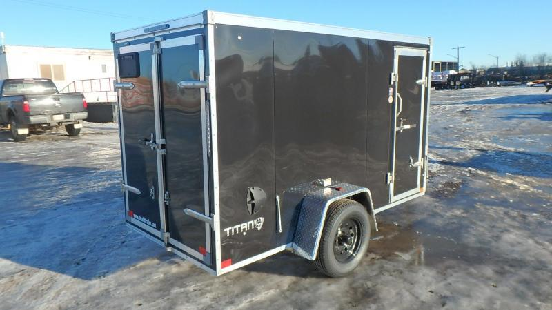 2021 Stealth Trailers Titan Series 5FT x 10FT Enclosed (3500LB GVW) Enclosed Cargo Trailer