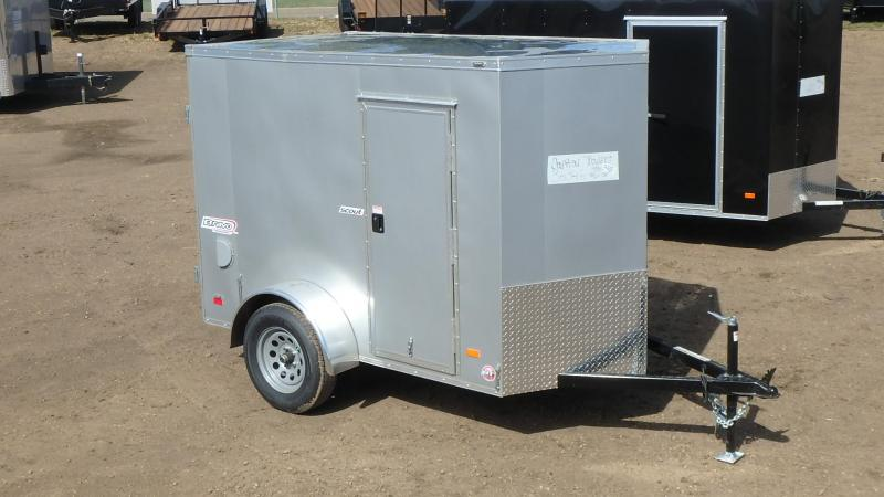 2021 Bravo Trailers 5FT x 8FT Enclosed Cargo (3500LB GVW) Enclosed Cargo Trailer