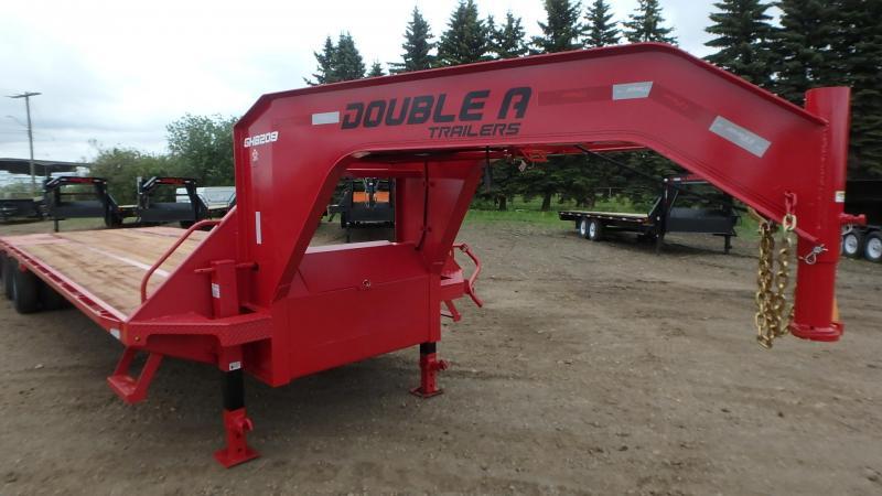 "2021 Double A Trailers 102"" x 30FT Tandem Dual ENGINEERED BEAM Gooseneck (22000LB GVW) Gooseneck Bodies"