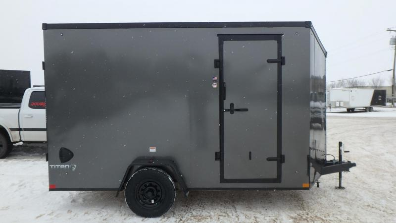 2021 Stealth Trailers 7FT x 12FT (3500LB GVW) Enclosed Cargo Trailer