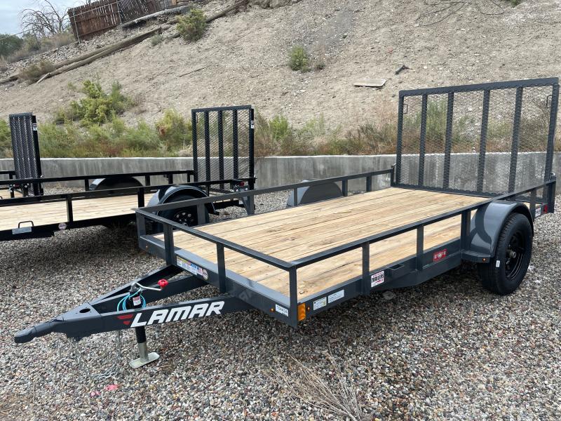 2021 Lamar Trailers 77x12 UC13 Utility Trailer