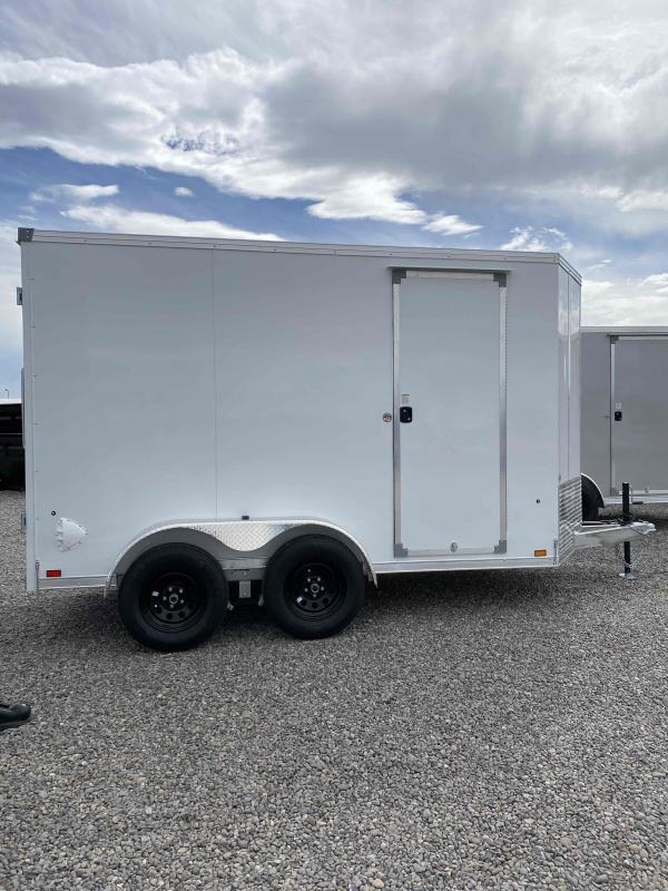 2022 EverLite Inc. 6X12 TANDEM AXLE Enclosed Cargo Trailer