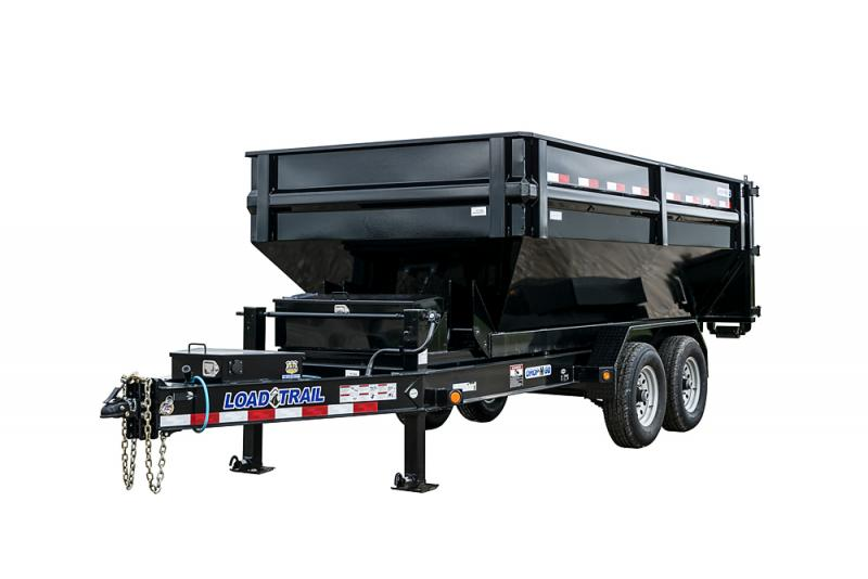 """2022 Load Trail DM14 - Tandem Axle Drop-N-Go Roll Off Dump w/8"""" I-Beam Frame Dump Trailer"""