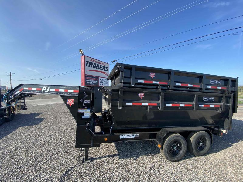 2022 PJ Trailers Rollster Roll Off Dump (DR) Dump Trailer