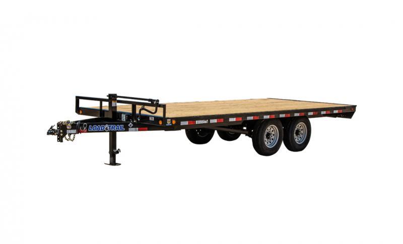 2021 Load Trail DK14 - Pintle Hook Deck Over 102 x 20 Equipment Trailer
