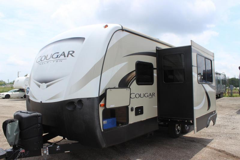 2019 Keystone RV Cougar Half-Ton 22RBS Travel Trailer RV
