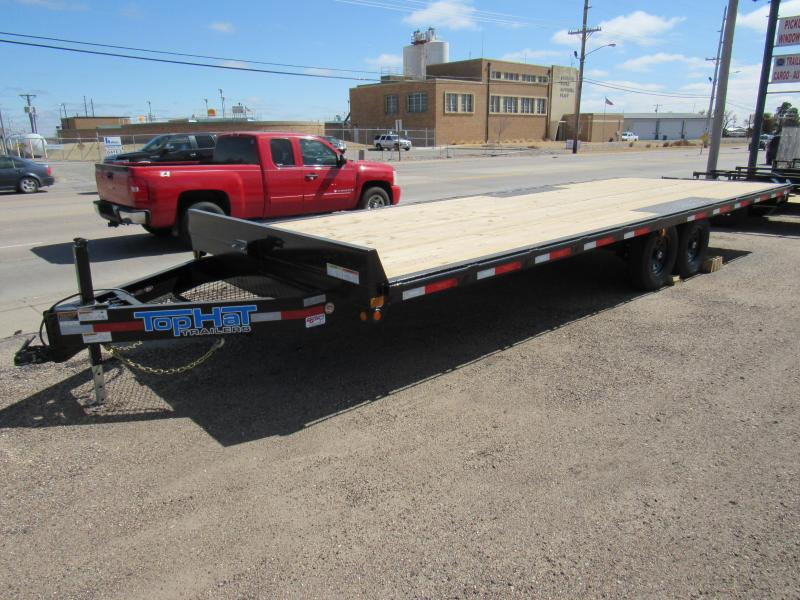 "2021 Top Hat Trailers 102"" X 24' Deckover Equipment Trailer"