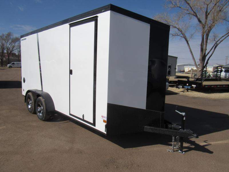 2020 Wells Cargo Road Force 7 X 16 Enclosed Cargo Trailer *UTV & Phantom Package*