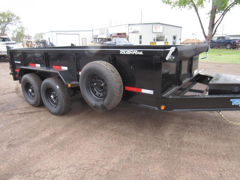 "2021 Top Hat Trailers 83"" X 14' Lo Pro Dump Trailer"