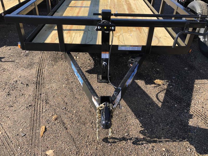 2021 Top Hat Trailers Heavy Hauler 14K Equipment Trailer