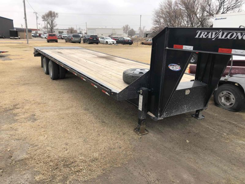 "2020 Travalong Gooseneck 31' X102"" 20K GVWR Flatbed Trailer"