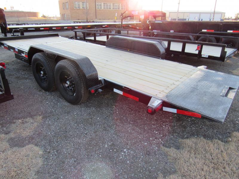 "2021 Top Hat Trailers 83"" X 20' Tilt Deck Equipment Trailer"