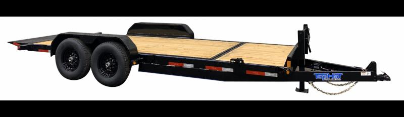 """2021 Top Hat Trailers 83"""" X 20' Tilt Deck Equipment Trailer"""
