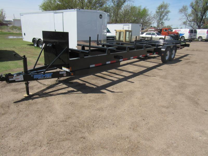 2019 Top Hat Trailers Pipe Hauler 32 X 72
