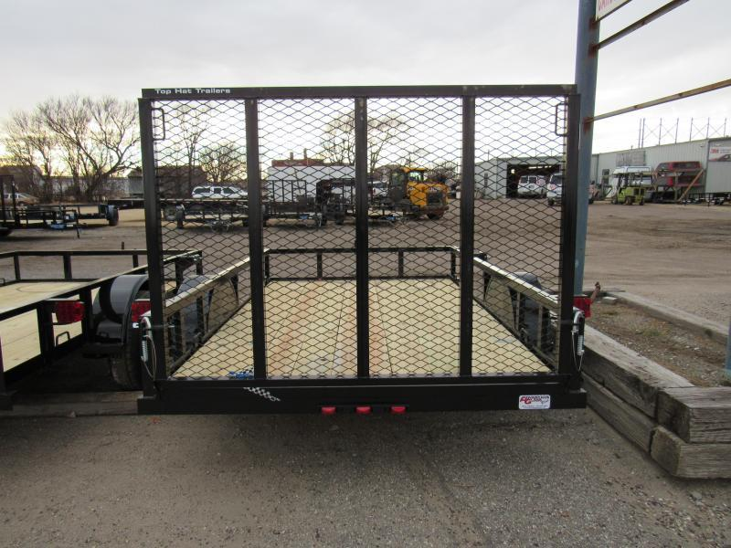 2021 Top Hat Trailers Express 6' X 10' Utility Trailer