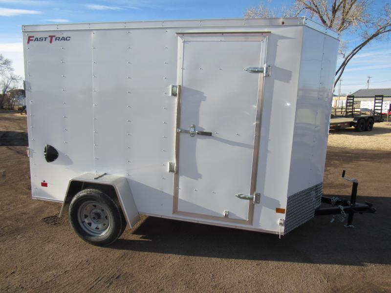 2020 Wells Cargo Fast Trac 6 X 10 V-Nose Enclosed Cargo Trailer