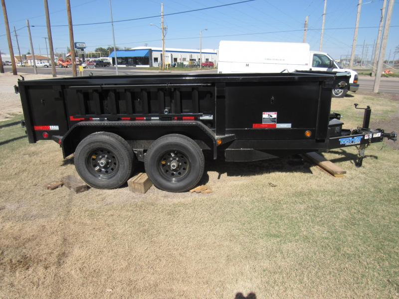 "2020 Top Hat Trailers DP100 77"" X 12' 10K GVWR Dump Trailer"