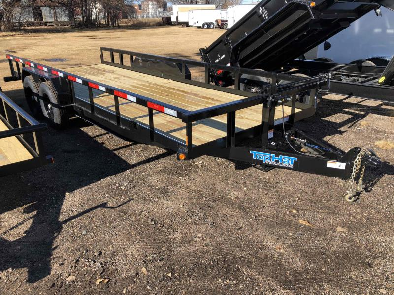 2021 Top Hat Trailers Heavy Hauler 14K Equipment Trailer