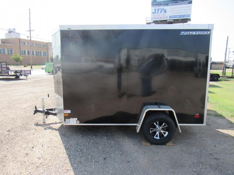 2020 Wells Cargo Road Force 6 X10 V-Nose RFV610S2 Enclosed Cargo Trailer