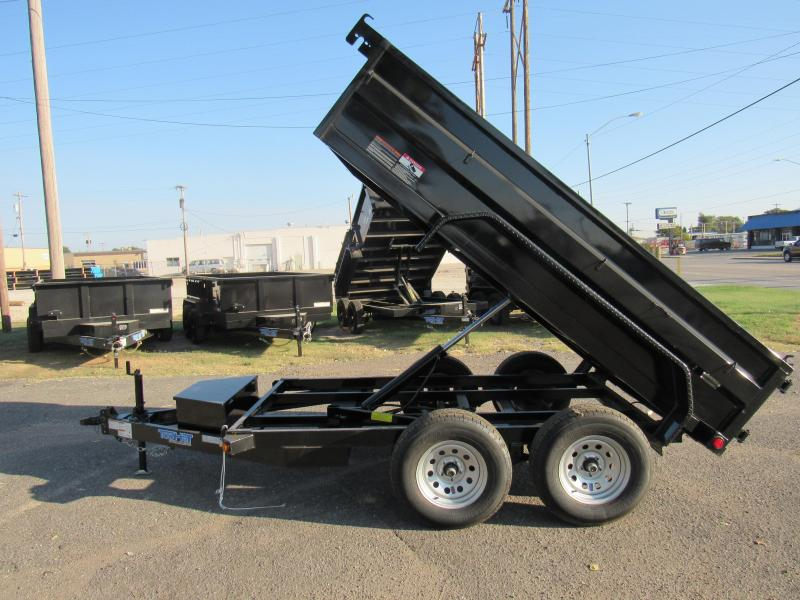 "2021 Top Hat Trailers 60"" X 10' 7K GVWR Dump Trailer"