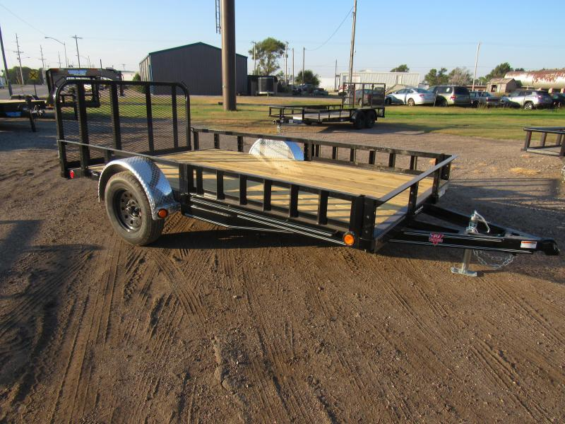 "2021 PJ Trailers 77"" X 12' (U7121) ATV RAMPS Utility Trailer"