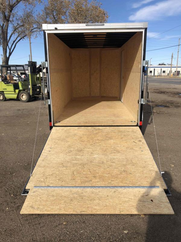 2021 Wells Cargo Road Force 7 X 14 V-Nose w/ UTV Package Enclosed Cargo Trailer