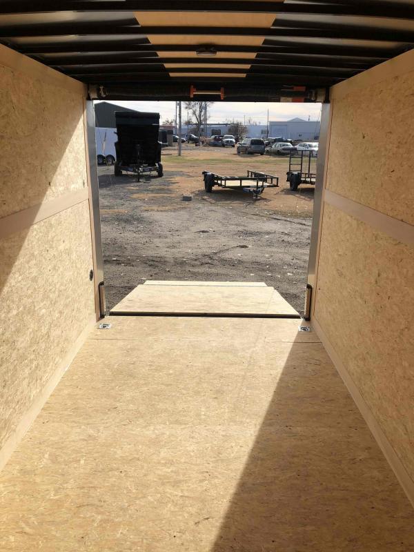 2021 Wells Cargo Road Force 7 X 14 V-Nose w/ UTV Package Enclosed Cargo Trailer