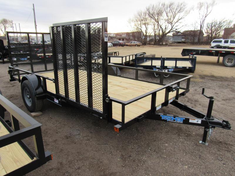 "2021 Top Hat Trailers 83"" X 14' Utility Trailer"